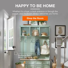 HAPPY TO BE HOME | Shop the Room