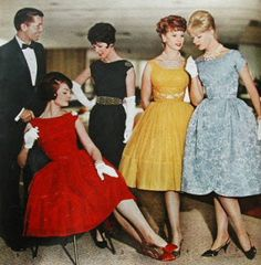 Love the black one...Vintage Clothing Love: 1960's Dresses - A Decade of Difference