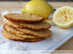 Lemon Coconut Cookies (paleo/grain-free)