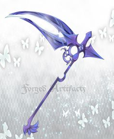 Custom Scythe by Forged-Artifacts.deviantart.com on @deviantART