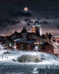 Likes, 36 Comments - Quebec Canada, Beautiful Space, Beautiful Homes, Beautiful Things, Chute Montmorency, Chateau Frontenac, Le Petit Champlain, Construction, Cool Places To Visit