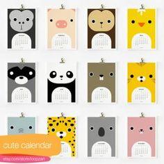 Calendario 2012 per bambini