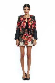 Mini rose coat Mini Roses, Social Club, Cashmere, Wool, Silk, Skirts, Designers, Outfits, Dresses
