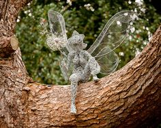Fairy in a tree http://www.trentham.co.uk/trentham-gardens/lake-and-lakeside-activities/fairies-at-trentham