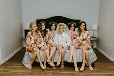 Bridesmaid Robes and Wedding Accessories Bridal Party Robes, Bridal Gifts, Bridesmaid Robes, Wedding Accessories, Floral, Shopping, Bride Maid Dresses, Flowers, Wedding Bridesmaid Dresses