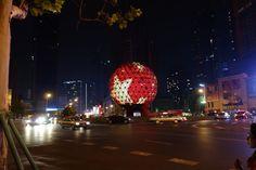 Friendship square, Dalian, China