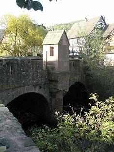 Kaysersberg (Ht-Rhin) - Vieux Pont sur le Weiss