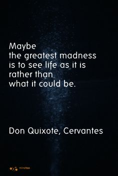 Don Quixote. Cervantes