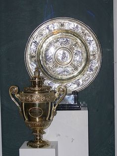 WIMBLEDON LADIES AND MENS TROPHIES