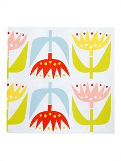 Klippan Tulip Paper Napkins, Pack of 20