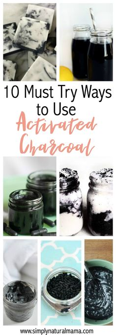 Here are ten awesome, totally unique ways to use activated charcoal.  Some of these I knew, but most of them I had never thought of before.  What an awesome article! via @simplynaturalma