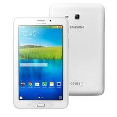 (PontoFrio.com) Tablet Samsung Galaxy Tab E 7.0 3G SM - T116BU com Tela 7, 8GB, Processador Quad Core de 1.3GHz, Câm. 2MP, AGPS, Bluetooth…