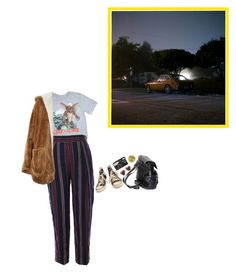 """286. assassinate my character"" by poolboy ❤ liked on Polyvore featuring Retrò, Zara, Sans Souci, Converse and John Lewis"