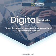 In this digital era, most of the potential customers are found online. Using digital marketing services you can reach out to the massive audiences. Hire Coracc Technologies for establishing a Digital Marketing Campaign for your business, and start getting all the desired results. . . #onlinemarketing #branding #business #seo #socialmedia #socialmediamarketing #marketing #digitalmarketing Online Marketing Services, Email Marketing, Content Marketing, Affiliate Marketing, Social Media Marketing, Seo, Campaign, Branding, Technology