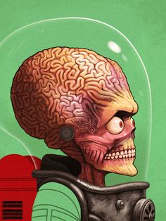 Mike Mitchell Martian Arte de Mike Mitchell