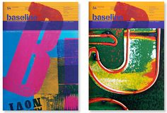 Take a look at Baseline magazine. There's a lot of visual yumminess and great informative articles, too! Magazine Spreads, Magazine Covers, Base, Art Forms, 30, Typography Design, Cool Words, Graphic Design, Art Prints