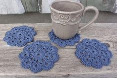 Check out our coasters selection for the very best in unique or custom, handmade pieces from our shops. Coaster Set, Crochet Earrings, Unique, Handmade, Etsy, Hand Made, Craft