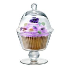 Artland glass Cup Cake Coupe domed display pedestal stand NEW Display Pedestal, Pedestal Stand, Cupcakes, Cupcake Cakes, Cupcake Recipes, Macarons, Cake Plates, Serveware, Joss And Main