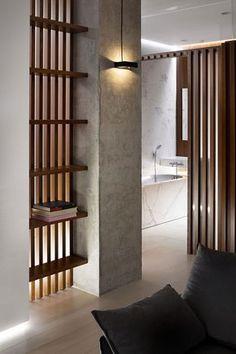 Минималистичная квартира в Днепре от Nott Design   Пуфик - блог о дизайне интерьера