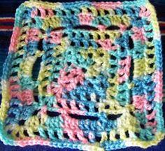Dayna's Crochet - Double Granny Square Free Patterns