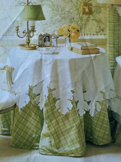 Have Always Loved This Tablecloth.