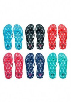 d34a7db8fbae  Our BEST SELLING Anchor Flip Flops  Perfect For A Day At The Lake