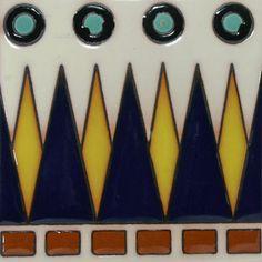 Prima Mexican Tile - Cordillera – Mexican Tile Designs Talavera Mexican Pottery:   More At FOSTERGINGER  @ Pinterest
