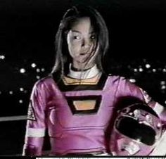 A list of every female Power Ranger. For the Japanese counterpart: - Super Power Rangers Turbo, Pink Power Rangers, Powerful Women, Leather Jacket, Graphic Sweatshirt, Female Power, Cassie, Cosplay, Space