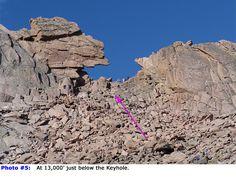 Longs Peak - Keyhole Route