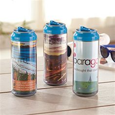 Popular 16 oz beverage can size. Comes standard with custom digital insert. Promotional Giveaways, Wall Insulation, Beverages, Drinks, Promote Your Business, Sales And Marketing, Drinkware, Water Bottle, Canning
