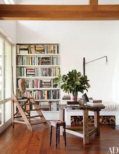 Ellen DeGeneres and Portia de Rossi's Rustic Residence in California Photos | Architectural Digest