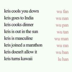 Haha, LuHan cx