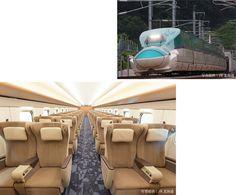 JR北海道 H5系新幹線グリーン車の内装に当社製品(シート地、カーペット、カーテン)が採用されました。流氷の海明けをデザインしたカーペットに、北海道の乳製品をヒントにしたクリーム色の壁とマッチする落ち着いたダークベージュのシート生地。カーテンには雪の結晶をイメージした柄がデザインされています。 Hokkkaido Shinkansen started today. We produced seat-covering fabrics, curtains and carpets for the green cars of Hokkaido Shinkansen which runs in 4 hours and 2 minutes between Tokyo and Sin-hakodate-hokuto Station. #shinkansen #Hokkaido #japanrailway #北海道新幹線 #龍村美術 #電車 #シート #tatsmura