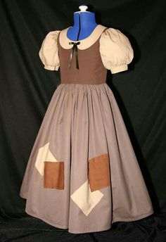 Snow White's rag dress.