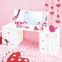 Hello Kitty Room ♡ Love this dresser!!!! MUST HAVE!!!