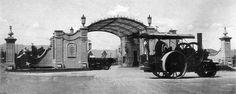 La Estación Necaxa se ubicaba donde actualmente se encuentra la Fuente de Petroleos.