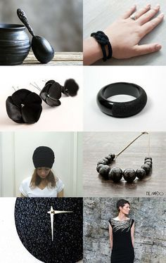 In love with black by Gabardine Créations Couture on Etsy--Pinned with TreasuryPin.com