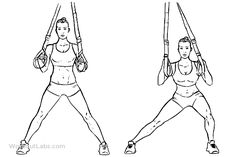 Adductor / Abductor / Adduction Inner Thigh Machine