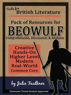 real world beowulf essay prompt using mentor texts about beowulf beowulf literature guide unit creative info text task cards essay test