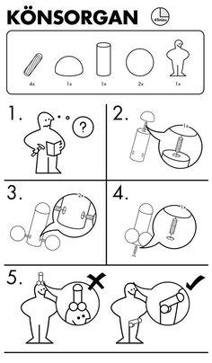 Ikea hahahaa love it Ikea Memes, Ikea Art, Line Art Vector, Technical Illustration, Vintage Medical, Instructional Design, Pictogram, Humor, Hibiscus