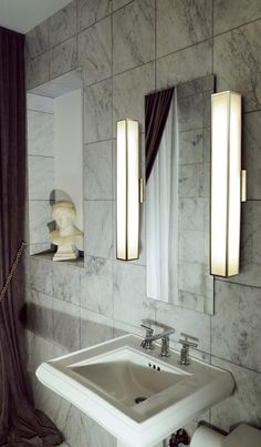 Garbo Wall Sconce by Edge Lighting   garbo-w-25-f1-sn