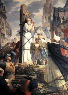 Joan of arc by Jules-Eugene Lenepveu  1879