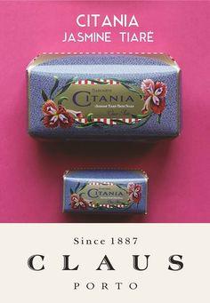 Claus Porto CITANIA - Jasmine Tiar, luxuary #portuguese soap
