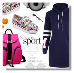 """""""Go sporty"""" by fashion-pol ❤ liked on Polyvore featuring Topshop"""
