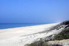 Praia da Areia Branca, Alentejo.