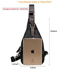 93760e4b5fcd7 VICUNA POLO Sling Backpack Men Leather Chest Bag Crossbody Shoulder Bag For  Men camouflage black    Find out more about the great product at the image  link.