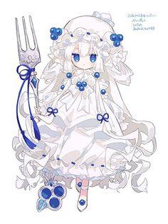 Cute Little Drawings, Cute Kawaii Drawings, Kawaii Art, Loli Kawaii, Kawaii Anime Girl, Anime Art Girl, Fantasy Character Design, Character Design Inspiration, Character Art
