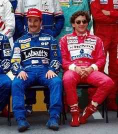 pi GP da Austrália de 1992, exatos 21 anos atrás, marcou o último confronto entre Nigel Mansell e Ayrton Senna