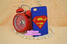 Superman iPhone 4 caseSuperman iPhone 5 CaseBling by Elodieforever, $25.99
