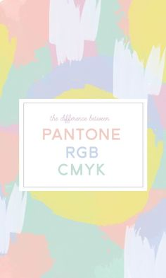On the Creative Market Blog - What's the Difference Between Pantone, CMYK, and RGB Colors?